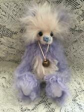 BUBBLE GUM KAYCEE BEARS LIMITED EDITION MOHAIR DESIGNED BY KELSEY CUNNINGHAM