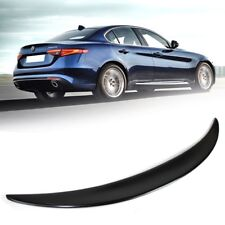 Unpainted For Alfa Romeo 4DR Giulia 952 Quadrifoglio Performance Trunk Spoiler