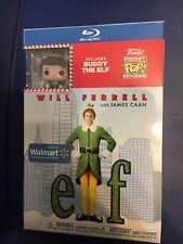 Elf Will Ferrell Blu-ray Buddy The Elf Funko Pocket Pop! Walmart Exclusive