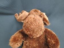 2005 WISH PETS BROWN MOOSE BRUCE MONTANA LEFT FOOT PLUSH STUFFED ANIMAL