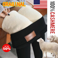 Winter Tight Warm Thick Cashmere Pants High Waist Pants Warm Pants 100% Oraginal