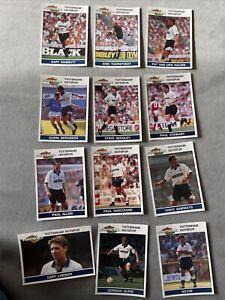 Panini Football 92 Complete Spurs Team Set Stickers original Backs 1992 Rookie