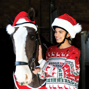 Equetech Santa's Horse Hat  - New for Autumn 2021! 2 Sizes