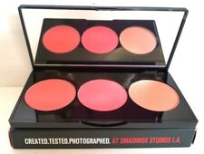 SMASHBOX L.A. LIGHTS Blush & Highlight Pressed Powder Palette CULVER CITY CORAL