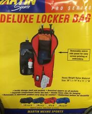 Deluxe Locker Bag - Martin Sports - Red