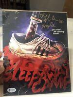 Fellisa Rose Signed Sleepaway Camp 8x10 Photo Autograph BAM BOX HORROR Metallic