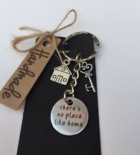 New Home/ House Keyring There's No Place Like Home Present / Gift* Keepsake