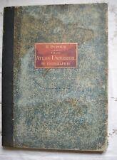 GRAND ATLAS UNIVERSELLE PHYSIQUE HISTORIQUE... DUFOUR ED LE VASSEUR 1881 BE