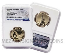 2019 American Innovation $1 NGC REVERSE PF70 First Day of Release Pennsylvania