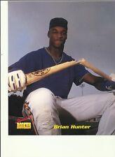 Brian Hunter  8x10 Photo  MLB  Signature Rookies Astros TIgers