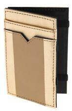 J CREW INSIDE OUT MAGIC WALLET GOLD TONE NATURAL  NWT