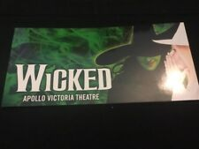 Wicked The Musical London Glossy Ticket Wallet Holder VERY RARE
