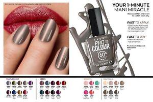 Avon Pro Colour In 60 Seconds Nail Enamel - choice of colours