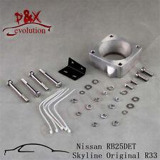 New R33 RB25DET Front Facing Intake Manifold Original Throttle Body Adaptor Kit