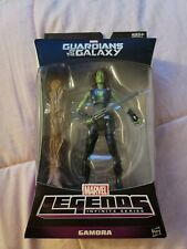 Marvel Legends  GAMORA Guardians of the Galaxy BAF Groot brand new