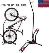Vertical Mountain Bikes Nook Upright Bicycle Rack Stand Floor for Garage Indoor