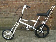 Vintage Classic one off Custom Raleigh Chopper with XL Raleigh Suspension Fork