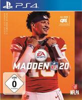 Madden NFL 20 (PS4 PlayStation 4) (NEU & OVP) (Blitzversand)