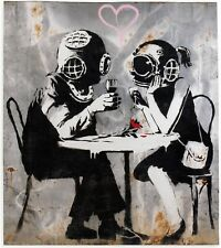 Banksy - Think - 50x65 cm -  Edition 150 uds - Printed Signature - Number pencil