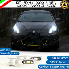 KIT LED H1 ABBAGLIANTE ALFA ROMEO GIULIETTA 10000 LUMEN 6000K CANBUS ALL IN ONE