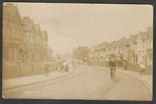 Postcard Harrow Middlesex houses in Hamilton Road early RP