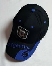 New Plain World Cup Soccer Argentina Cap Golf Baseball Adjustable Football Hats