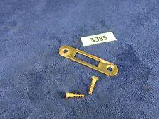 Edison Disc Phonograph Brass Lid Lock Strike Plate (#3385)