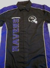 "Baltimore Ravens ""Run And Shoot"" Shirt~PURPLE~Men's SMALL~NFL--FREE Shipping"