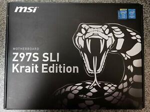 Intel i7 4790k + MSI Z97S SLI Krait Edition + 16GB HyperX Fury DDR3 + HSF + Wifi