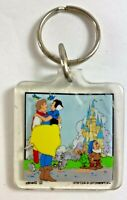 Vintage Snow White and the Seven Dwarfs Plastic Key Chain