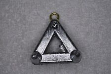 4 oz Triangle Snag Claw Surf Fishing Lead Weights - 20 Sinkers - Free Shipping