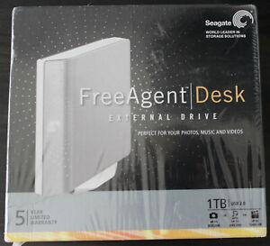 Seagate FreeAgent Desktop external hard drive 1TB USB 2.0 New inbox