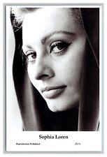 Sophia Loren (C) Swiftsure Postcard year 2000 modern print 20/6 glamour photo
