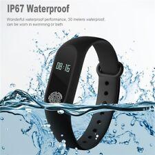 Bluetooth Smart Watch Fitness Activity Tracker Sports Gym Flex Calorie Counter