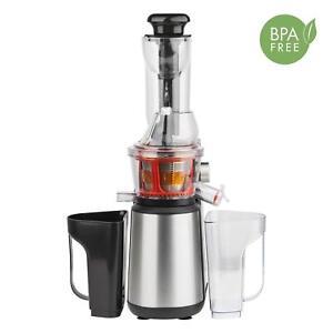 H.Koenig GSX18 - Mixeur Pour Fruit Et Légumes De Pressé Dans Froid 400 W, 1 LT