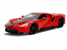 Jada 1:24 Metals Bigtime Muscle 2017 Ford GT Red Diecast Car 99392