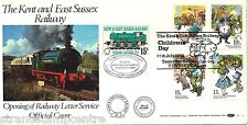 1979 Yoc-Benham RH Kent & East Sussex ferroviaire cachet officiel (disposition 1)