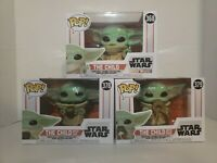 Funko Pop!  Star Wars The Mandalorian Baby Yoda The Child 368,378,379