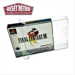 Schutzhüllen 0,3 und 0,5mm Playstation 1 double case PS1 one Protector PSX Box