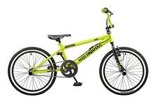 "Rooster Big Daddy Kids 20"" Wheel Freestyle BMX Bike Bicycle Gyro Yellow RS121"