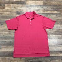 Adidas Polo Shirt Mens Large ClimaLite ClimaCool Short Sleeve Lightweight Golf