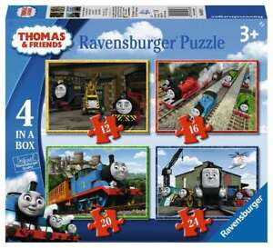 Ravensburger Children's Jigsaw Puzzle 4 In A Box Thomas The Tank