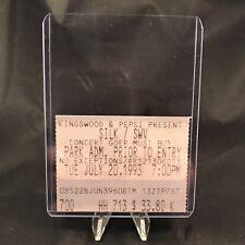 Silk SWV Kingswood Music Theatre Toronto Canada Concert Ticket Stub Vintage 1993