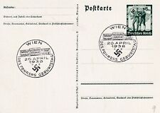 GERMANY 1938 BIRTHDAY CARD