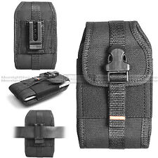 For Smart Cell Phone Vertical Rugged Holster Belt Clip Pouch Carrying Case Cover