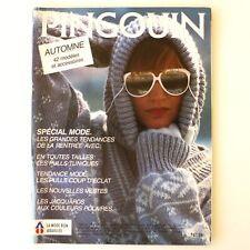 Ancien catalogue de Tricot PINGOUIN n°74 Juin 1985  - 42 Modèles Automne -
