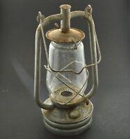 """WW2 HURRICANE LANTERN kerosene oil lamp barn light tower-lite British RARE 15""""-e"""