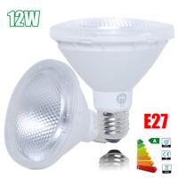 10/1x E27 ES 12W PAR30 LED Spot Light Bulbs COB SMD Lamp Spotlight Warm White AU