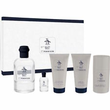 Original Penguin Premium Blend 5pc Gift Set for Men [3.4oz edt spray] NIB
