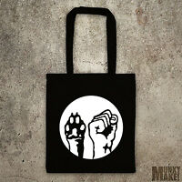 ANIMAL LIBERATION tote bag different colours protest animal rights shopper vegan